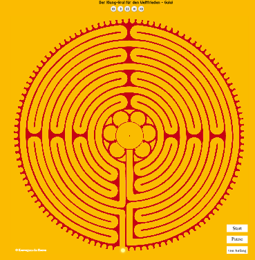 Labyrinth-Meditation